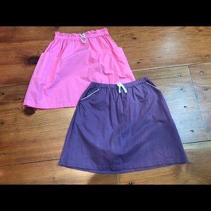 HANNA ANDERSSON 150 *Bundle of 2* Tennis Skirts